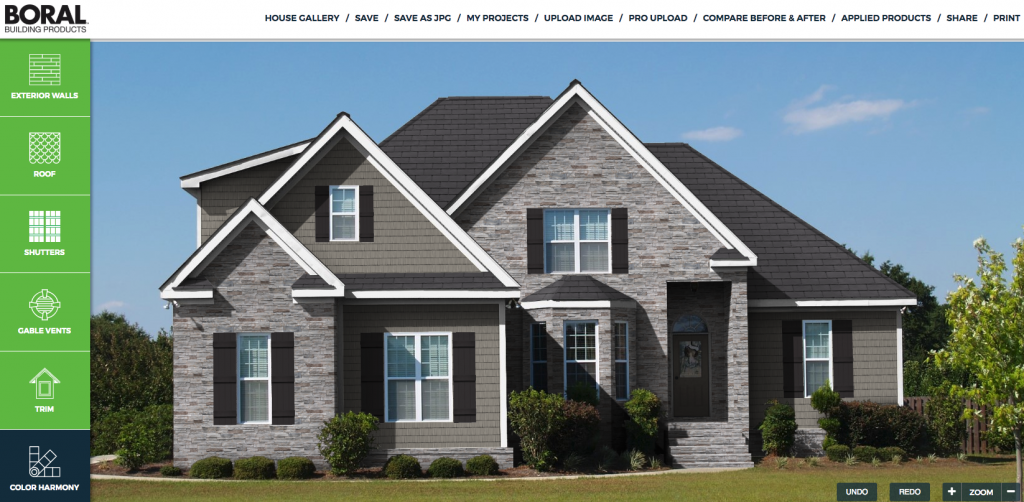 Boral Building Products Virtual Remodeler Exterior Products Siding Trim