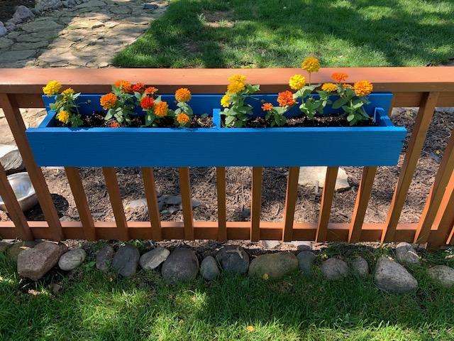 TruExterior trim, flower box