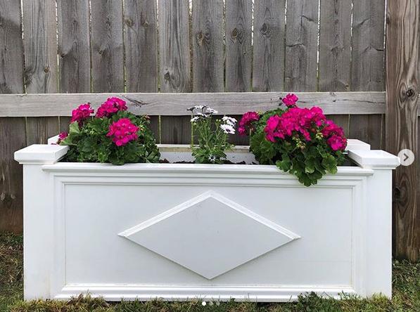 Kleer Lumber flower box
