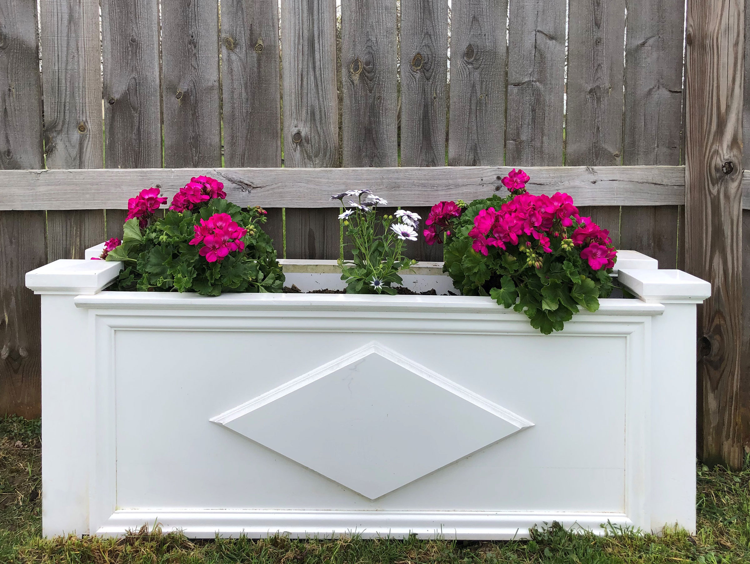 Flower box built with Kleer