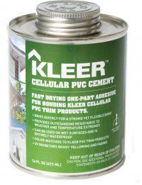 Kleer PVC Cement Cement 16oz